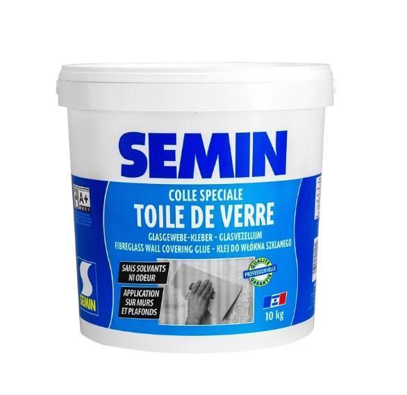 COLLE TDV- Готовый специальный клей для всех стеклообоев и стеклохолстов (5 кг) Semin