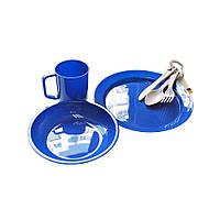 Набор пластиковой посуды Tramp TRC-047 + Бонус