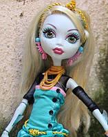 Кукла Monster High Лагуна Блю (Lagoona Blue) вторая волна базовых кукол Монстер Хай Школа монстров
