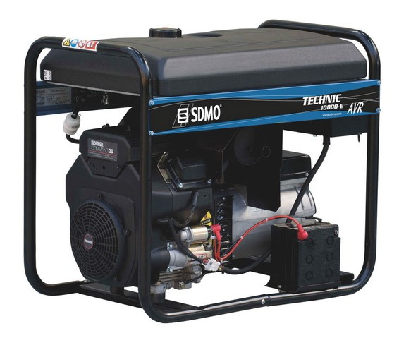 Однофазный бензиновый генератор SDMO Technic 10000 E AVR (10 кВт)