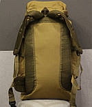 Тактический (туристический) рюкзак  на 70 литров Coyote ( ta70-coyote), фото 5