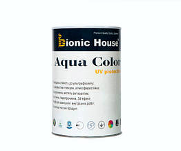 Солнцезащитная краска лазурь для дерева Bionic House Aqua Color UV protect