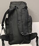 Тактический (туристический) рюкзак  на 70 литров Black (ta70-black), фото 7