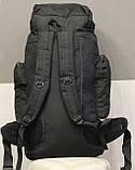 Тактический (туристический) рюкзак  на 70 литров Black (ta70-black), фото 10