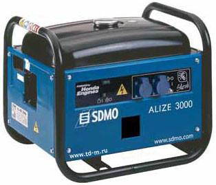 Однофазный бензиновый генератор SDMO Alize 3000 (2,8 кВт)