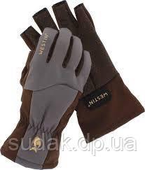 Перчатки Westin W4 QuickGrip Half-Finger Glove Chestnut/Grey