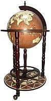 Глобус бар напольный d=36см RG 36001 N-M