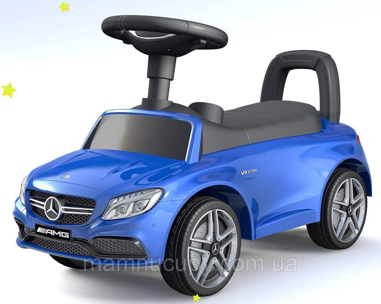 Машинка толокар Baby Mix UR-HZ638 Mercedes AMG C63 Blue