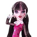 Кукла Monster High Дракулаура (Draculaura) с летучей мышью базовая Монстр Хай, фото 3
