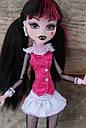 Кукла Monster High Дракулаура (Draculaura) с летучей мышью базовая Монстр Хай, фото 5