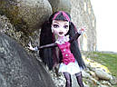 Кукла Monster High Дракулаура (Draculaura) с летучей мышью базовая Монстр Хай, фото 7