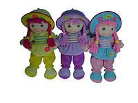 """Кукла мягкая 16"""", 3 вида, в п/э /60/(R2016C)"""