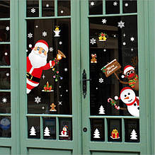 НОВИНКА! Новогодние наклейки на окна