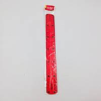 Линейка пластиковая силиконовая ''неломайка'' цветная 30 см