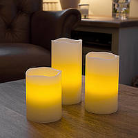 Cвечи Светодиодные с Запахом ванили с таймером