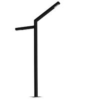 Светильник уличный парковый столб ALVA-PA-S-2, 28Вт, IP 65
