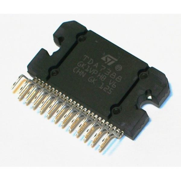 Микросхема TDA7388 FLEXIWATT-25