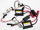 Ксеноновый свет БиКсенон Xenon цоколь Н4 (на три контакта) 6000к лампы дальнего и ближнего цвета, фото 2