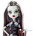 Кукла Monster High Фрэнки Штейн (Frankie Stein) с питомцем щенком базовая Монстр Хай, фото 2