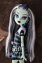 Кукла Monster High Фрэнки Штейн (Frankie Stein) с питомцем щенком базовая Монстр Хай, фото 4