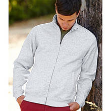 Чоловіча кофта на змійці Classic sweat jacket 62-230-0