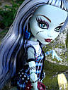 Кукла Monster High Фрэнки Штейн (Frankie Stein) с питомцем щенком базовая Монстр Хай, фото 5