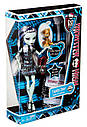 Кукла Monster High Фрэнки Штейн (Frankie Stein) с питомцем щенком базовая Монстр Хай, фото 10