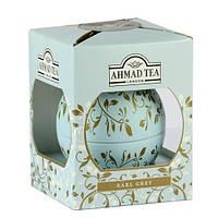 Чай Ahmad Tea в подарочной новогодней упаковке Голубой шар «Эрл Грей» 01207