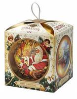 Зеленый чай Sir Barton Tea - новогодняя коллекция - золотой чайный шарик 01209