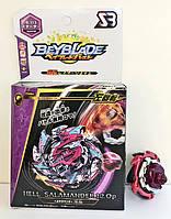 Игрушка-Волчок Бейблейд Взрыв BEYBLADE BURST Hell Salamander Адская Саламандра с ручкой (5 сезон) В113