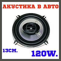 Колонки автомобильные динамики в машину 13 См 120 Вт SHUTTLE серии SKYLOR Platinum PLT-1322, фото 1