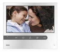 AHD 1080P видеодомофон Qualvision QV-IDS4744SC White