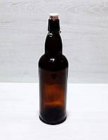 Бутылка с бугельной крышкой  Litva Brown 500мл