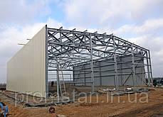 Быстромонтируемые здания БМЗ из оцинкованных металлоконструкций, фото 3