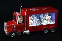 Новогодний грузовик Санта Клауса с музыкой и подсветкой