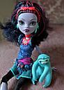 Кукла Monster High Джейн Булитл (Jane Boolittle) с ленивцем базовая Монстр Хай, фото 7