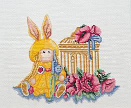 Набор для вышивания нитками Куколка (25 х 25 см) Абрис Арт AH-045