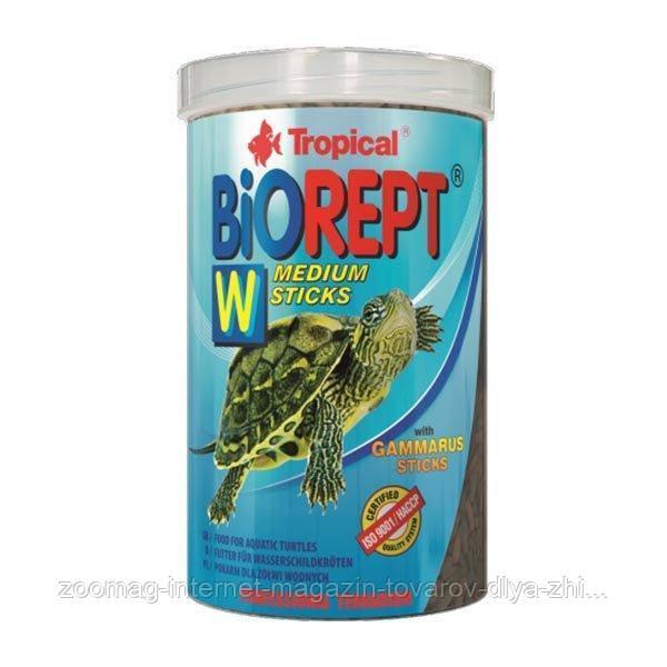 "Корм в виде палочек для рептилий ""Biorept W"" (500ml /150g) Tropical™"