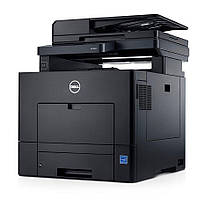 Кольоровий лазерний принтер МФУ Dell C2665dnf Laser Multifunction Printer б у