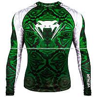 Рашгард Venum Amazonia 5 Rashguard Long Sleeves Green L