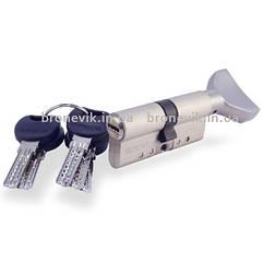 Цилиндр замка Apecs XD-70 (35х35)-C01-S сатин ключ/поворотник