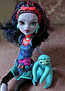 Лялька Monster High Джейн Булитл (Jane Boolittle) з ленивцем базова Монстер Хай Школа монстрів, фото 3