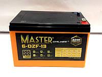 Тяговый аккумулятор для электровелосипедов 12V 13.1Ah Master 6DZM13.1