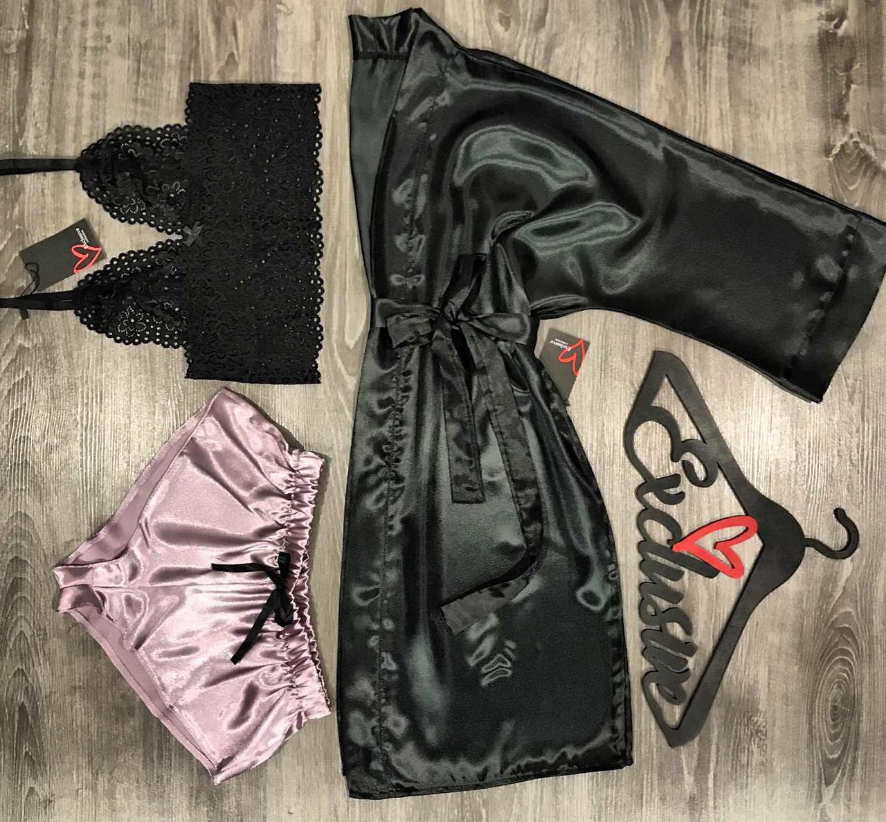 Женский комплект домашней одежды.