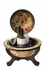 """Глобус бар настільний """"Світ на столі"""" 33040 W-B, фото 3"""