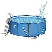 Каркасный бассейн Bestway 15427 (366х133) круглый с картриджным фильтром