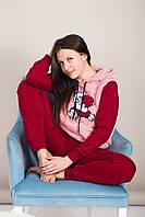 Домашний женский костюм с мишкой Турция, фото 5