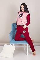 Домашний женский костюм с мишкой Турция, фото 8