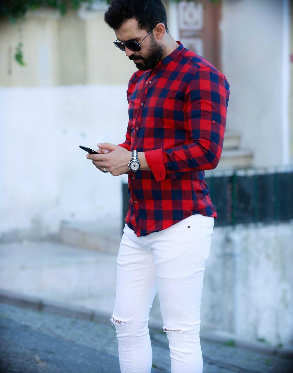 Тепла чоловіча сорочка