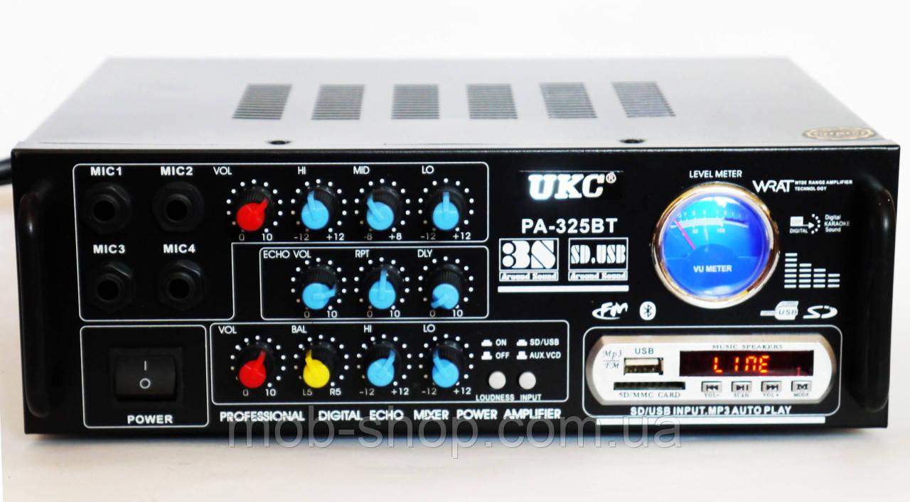 Усилитель звука UKC AV-325BT Караоке Bluetooth
